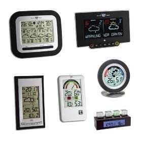 Digitale Messinstrumente für Wetter und Raumklima