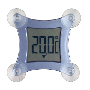 'Poco' Digitales Fensterthermometer
