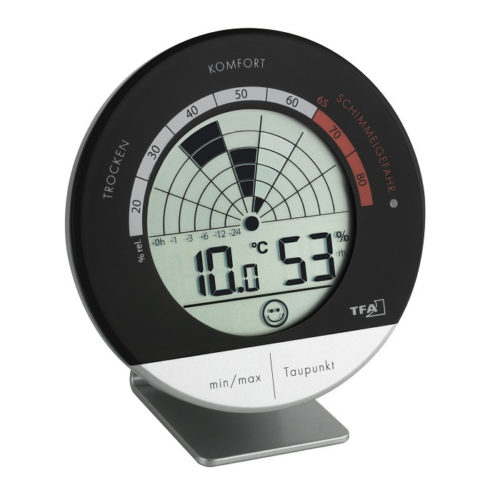 'Schimmel Radar' Digitales Thermo-Hygrometer