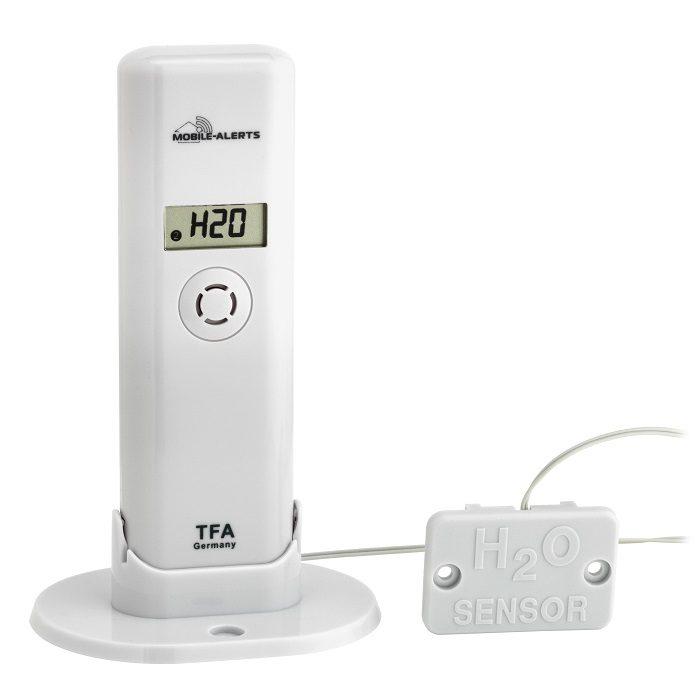 Temperatur/Feuchte-Sender mit Wassermelder passend für 'WEATHERHUB' System