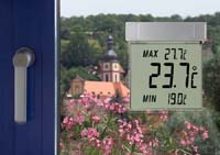 'Vision' Digitales Fensterthermometer
